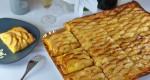 1/2 plaque de tarte aux pommes
